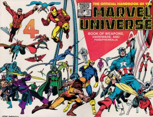 Official Handbook of the Marvel Universe (Vol. 1) #15 VF/NM; Marvel | save on sh