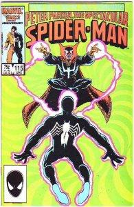 Spider-Man, Peter Parker Spectacular #115 (Jun-86) NM Super-High-Grade Spider...