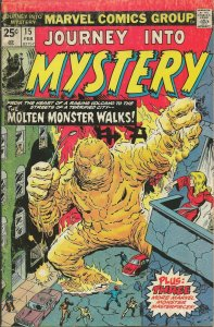Journey Into Mystery #15 ORIGINAL Vintage 1975 Marvel Comics Horror