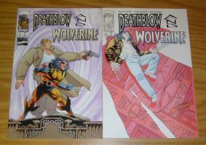 Deathblow/Wolverine #1-2 VF/NM complete series - marvel comics - image comics
