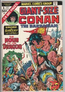 Giant-Size Conan #1 (Sep-74) FN Mid-Grade Conan