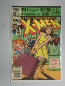 Uncanny X-Men #151 Newsstand edition 5.0 VG FN (1981 1st Series)
