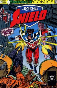 Legend of the Shield, The #1 VF/NM; Impact | save on shipping - details inside