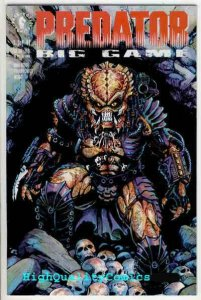 PREDATOR BIG GAME #1 2 3 4, NM, Hunter, Monster, 1991, 4 issues in all, 1-4 set