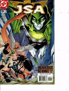 Lot Of 2 JSA DC Comic Books #19 20 Superman Batman LH24