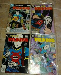 WILD DOG 1 2 3 4  1987, DC COMPLETE MINI  TV,S ARROW  CW HOT