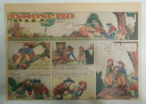 Broncho Bill Sunday Page by Harry O'Neill from 6/20/1937 Size: 11 x 15 inches