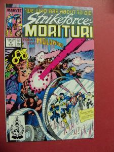 STRIKEFORCE MORITURI #6    (9.0 to 9.4 or better)  MARVEL COMICS