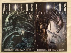 ALIENS : NEWT'S TALE - Complete Two (2) Issue Mini Series Lot - #1, and #2