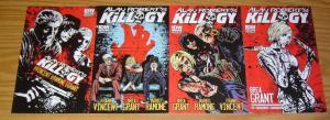 Alan Robert's Killogy #1-4 VF/NM complete series - the Ramones - life of agony C