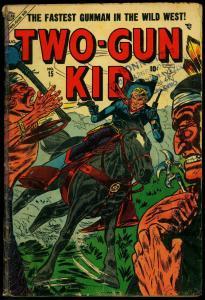 TWO-GUN KID #15 1954-ATLAS WESTERN-KID COLT APPEARS     FR/G