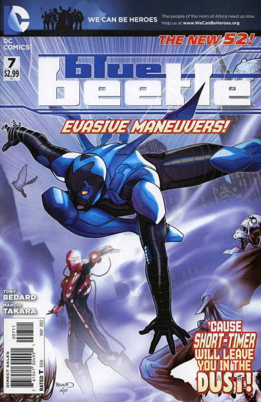 Blue Beetle (5th Series) #7 FN; DC | save on shipping - details inside