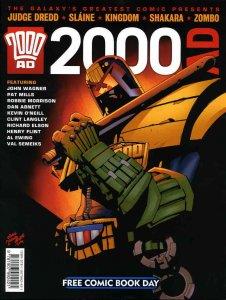 2000 A.D. FCBD #2011 VG; Fleetway Quality   low grade comic - save on shipping -