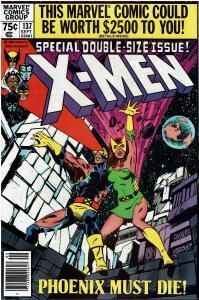X-Men #137, Dark Phoenix Story, 9.0 or Better, Terry Austin Signed