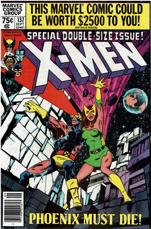 X-Men #137, Dark Phoenix Story, 9.0 or Better, Terry Austin Signed