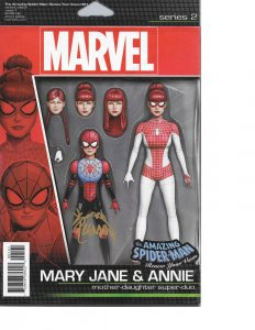 Amazing Spider-man Renew Your Vows #1 ACTION FIGURE VARIANT signed Ryan Stegman