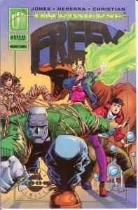 FREEX (1993 MA/UL) 1 (FOIL LOGO) VF ULTRA LIMITED ED;50 COMICS BOOK