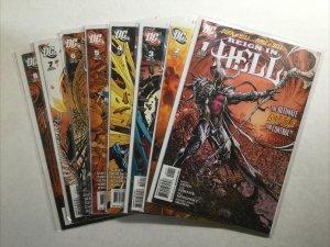 Reign In Hell 1-8 1 2 3 4 5 6 7 8 Lot Run Set Near Mint Nm Dc Comics