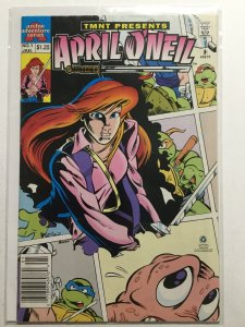 Teenage Mutant Ninja Turtles Presents April O'Neil 1 Fine- Fn- 5.5 Archie