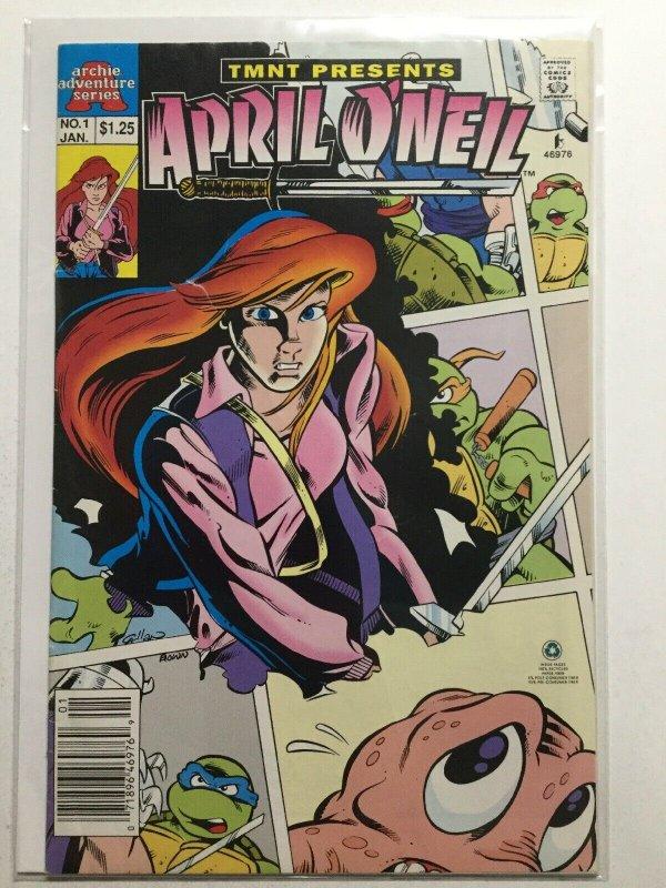 Teenage Mutant Ninja Turtles Presents April O'Neil 1 Fine- Fn- 5.5 Archie