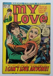 My Love #19 (Sep 1972, Marvel) FN 6.0 John Romita cover Stan Lee story