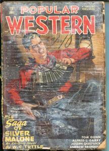Popular Western 12/1947-Thrilling-Sheriff Blue Steele-pulp-POOR