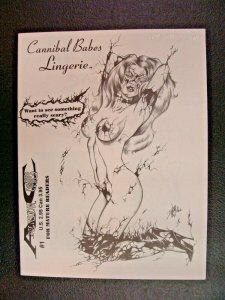 Cannibal Babes Lingerie Signed by David Miller Ltd to #664 of 2000 Art Book