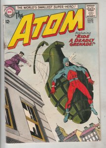 Atom, The #10 (Jan-64) VG+ Affordable-Grade The Atom