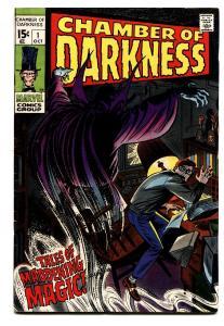 CHAMBER OF DARKNESS #1 comic book-1969-MARVEL HORROR VF-