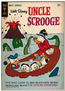 UNCLE SCROOGE (1952-1984 ) 70 VF July 1967
