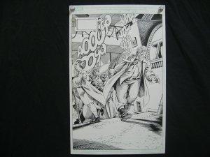 MARSHALL ROGERS-SPITFIRE-ORIGINAL ART-PG1-MARVEL COMICS FN