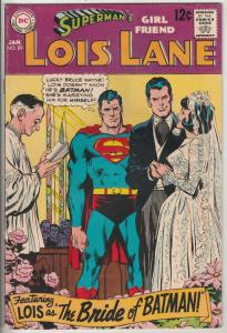 Lois Lane, Superman's Girlfriend  #89 (Jan-69) VF/NM High-Grade Superman, Loi...
