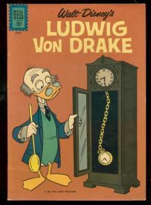 LUDWIG VON DRAKE #3 1962-DELL COMICS-WALT DISNEY-TV FN/VF