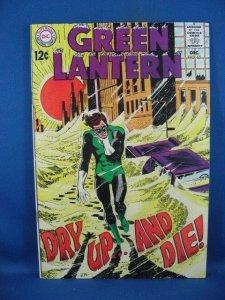 Green Lantern #65 (Dec 1968, DC) F+