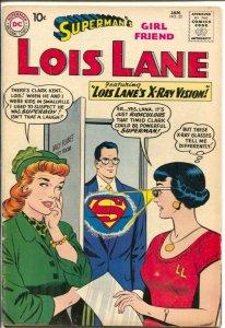 Superman's Girl Friend Lois Lane #22 1961-DC-Robin Hood-Helen of Troy-VG