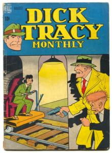 Dick Tracy #8 1948- Golden Age crime comic book G/VG