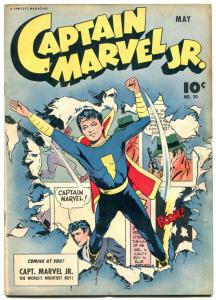 Captain Marvel JR #30 1954- Raboy cover- Golden Age comic FN+