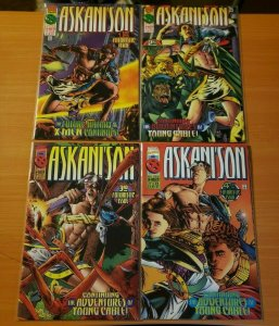 Askani'Son 1-4 Complete Set Run! ~ NEAR MINT NM ~ 1996 Marvel Comics