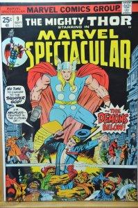 Marvel Spectacular #9 (1974) VF+ Solid Copy!