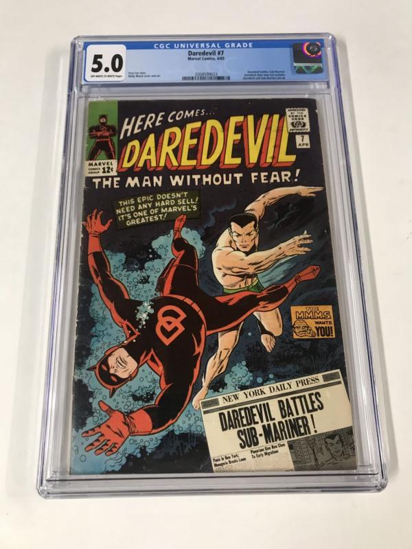 Daredevil #7 CGC 5.0