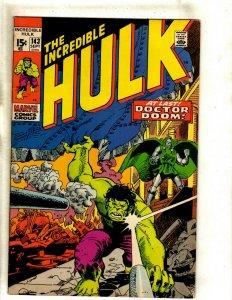 Incredible Hulk # 143 VF Marvel Comic Book Valkyrie Avengers Thor Iron Man RS2