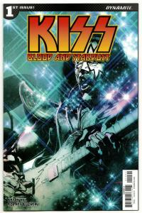 Kiss Blood And Stardust #1 Cvr D (Dynamite, 2018) NM