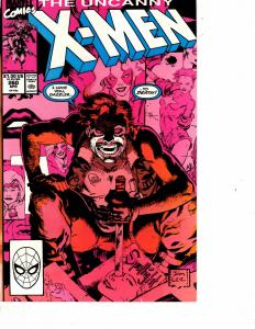 Lot Of 2 Marvel Comic Books The Uncanny X-Men #260 and #318  ON2