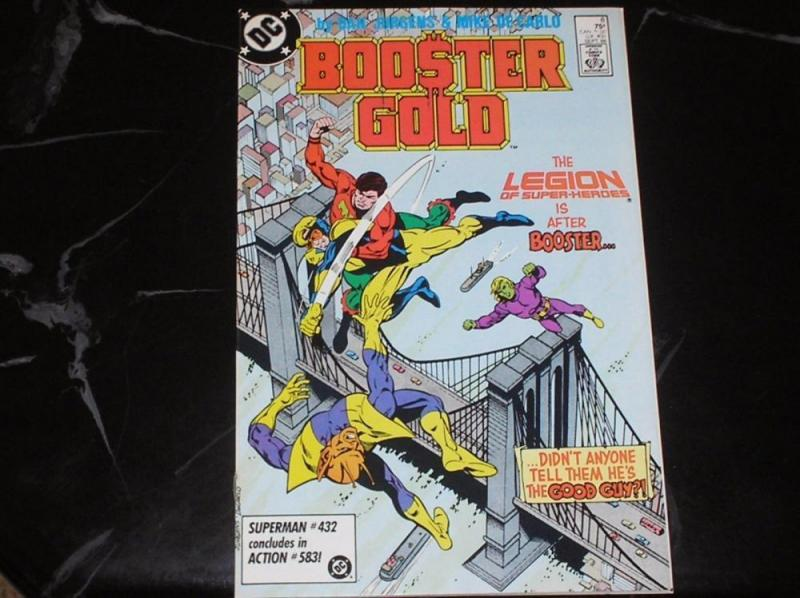 BOOSTER GOLD #8, VF/NM, Legion, DC, 1986, more in store