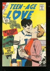 TEEN-AGE LOVE #23 1961-CHARLTON ROMANCE COMICS VF