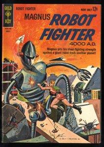 Magnus, Robot Fighter #3 VG+ 4.5