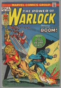 WARLOCK   5 VG-F  April 1973