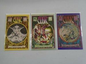 Elric lot #1,2,5 6.0 FN (1983 Pacific Comics)