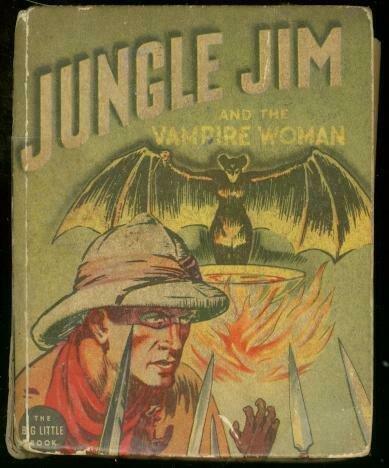JUNGLE JIM AND VAMPIRE WOMAN-BIG LITTLE BK-ALEX RAYMOND VG-