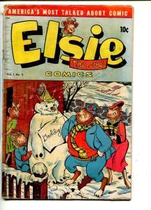 ELSIE THE COW  #2 -1950-BORDEN'S DAIRY-vg
